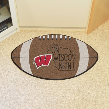 Picture of Wisconsin Southern Style Football Mat