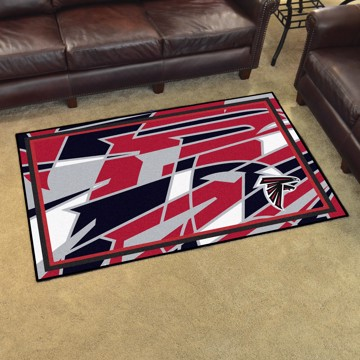 Picture of NFL - Atlanta Falcons 4x6 Plush Rug