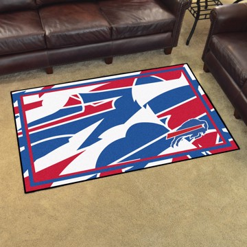 Picture of NFL - Buffalo Bills 4x6 Plush Rug
