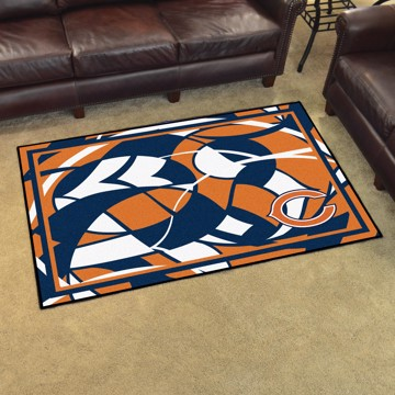 Picture of NFL - Chicago Bears 4x6 Plush Rug