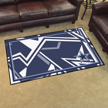 Picture of NFL - Dallas Cowboys 4x6 Plush Rug
