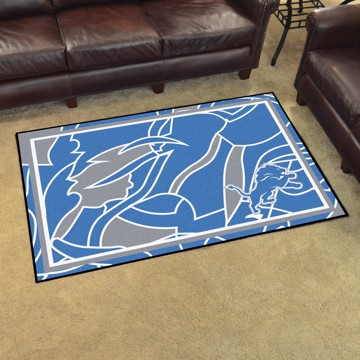 Picture of NFL - Detroit Lions 4x6 Plush Rug