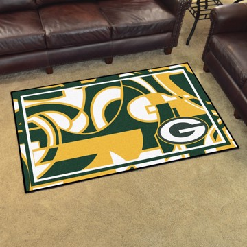 Picture of NFL - Green Bay Packers 4x6 Plush Rug