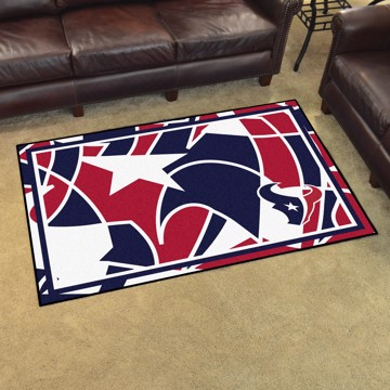 Picture of NFL - Houston Texans 4x6 Plush Rug