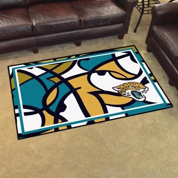 Picture of NFL - Jacksonville Jaguars 4x6 Plush Rug