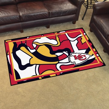 Picture of NFL - Kansas City Chiefs 4x6 Plush Rug