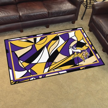 Picture of NFL - Minnesota Vikings 4x6 Plush Rug