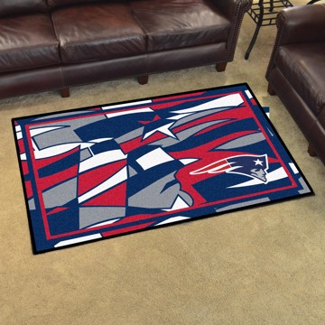Picture of NFL - New England Patriots 4x6 Plush Rug
