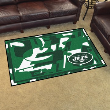 Picture of NFL - New York Jets 4x6 Plush Rug