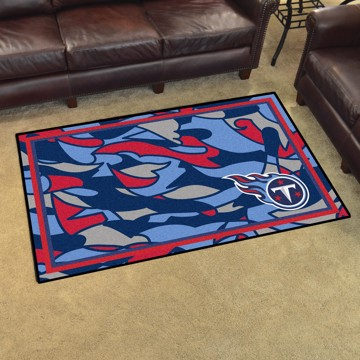 Picture of NFL - Tennessee Titans 4x6 Plush Rug