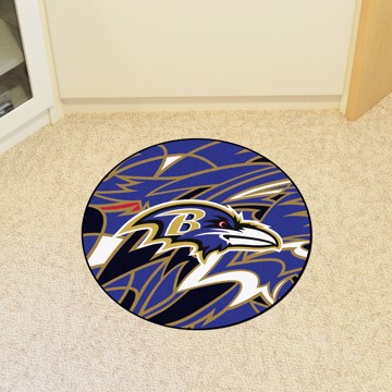 Picture of NFL - Baltimore Ravens Roundel Mat