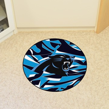 Picture of NFL - Carolina Panthers Roundel Mat
