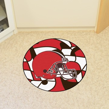 Picture of NFL - Cleveland Browns Roundel Mat