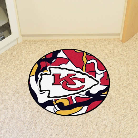 Picture of NFL - Kansas City Chiefs Roundel Mat
