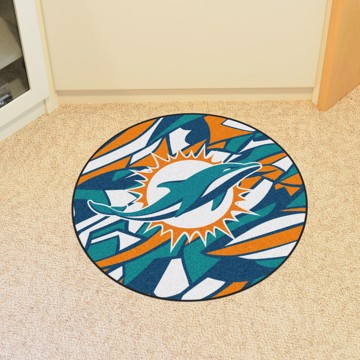 Picture of NFL - Miami Dolphins Roundel Mat