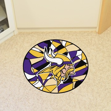 Picture of NFL - Minnesota Vikings Roundel Mat