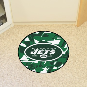 Picture of NFL - New York Jets Roundel Mat