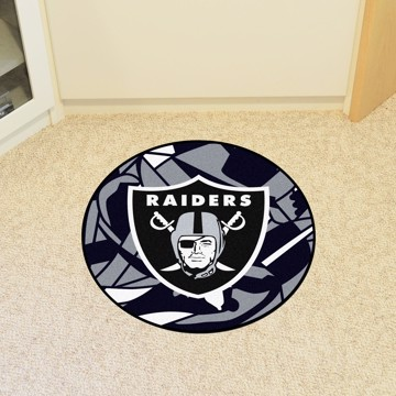 Picture of NFL - Oakland Raiders Roundel Mat