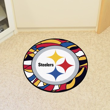 Picture of NFL - Pittsburgh Steelers Roundel Mat
