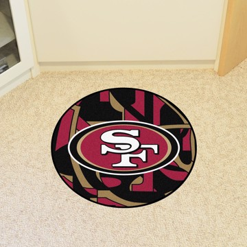 Picture of NFL - San Francisco 49ers Roundel Mat