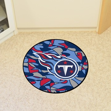 Picture of NFL - Tennessee Titans Roundel Mat