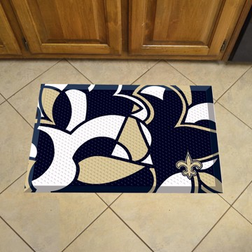 Picture of NFL - New Orleans Saints Scraper Mat