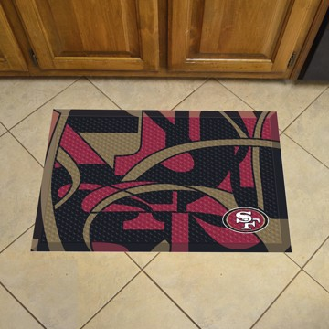 Picture of NFL - San Francisco 49ers Scraper Mat