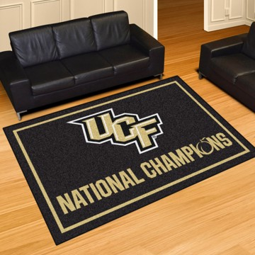 Picture of Central Florida (UCF) 5x8 Plush Rug