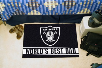 Picture of NFL - Oakland Raiders Starter Mat