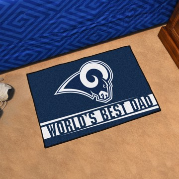Picture of NFL - Los Angeles Rams Starter Mat
