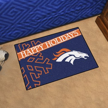 Picture of NFL - Denver Broncos Starter Mat