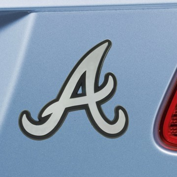 Picture of MLB - Atlanta Braves Emblem - Chrome