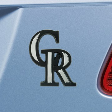 Picture of MLB - Colorado Rockies Emblem - Chrome