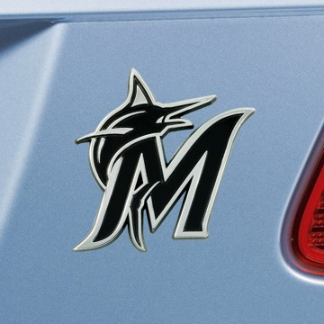 Picture of MLB - Miami Marlins Emblem - Chrome