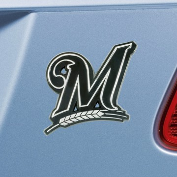 Picture of MLB - Milwaukee Brewers Emblem - Chrome