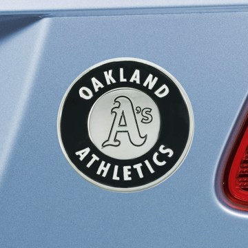 Picture of MLB - Oakland Athletics Emblem - Chrome