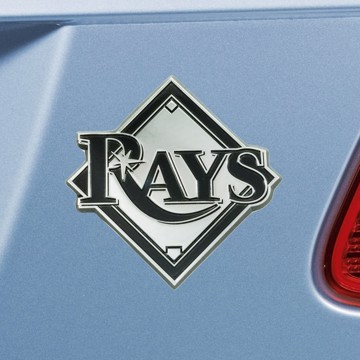 Picture of MLB - Tampa Bay Rays Emblem - Chrome