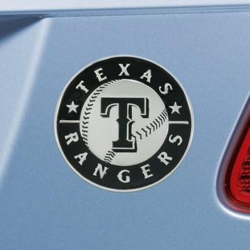 Picture of MLB - Texas Rangers Emblem - Chrome