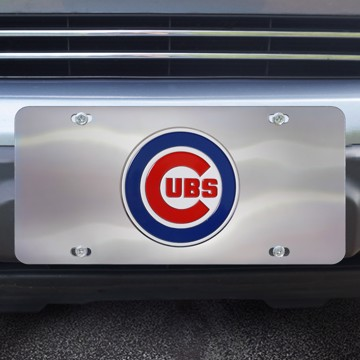 Picture of MLB - Chicago Cubs Diecast License Plate