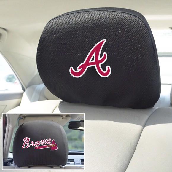 Picture of MLB - Atlanta Braves Headrest Cover