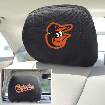 Picture of MLB - Baltimore Orioles Headrest Cover
