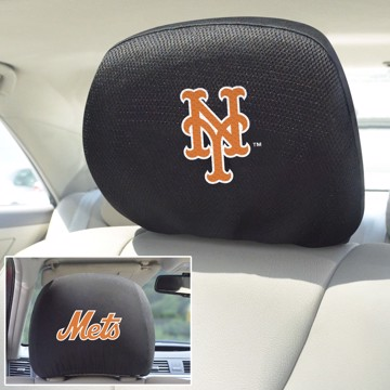 Picture of MLB - New York Mets Headrest Cover