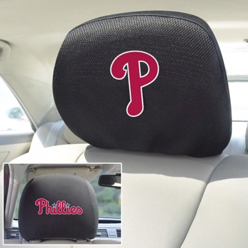 Picture of MLB - Philadelphia Phillies Headrest Cover