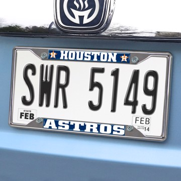 Picture of MLB - Houston Astros License Plate Frame