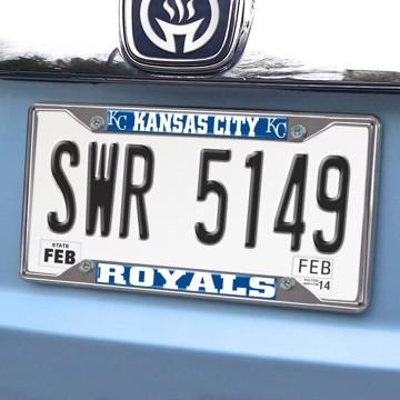Picture of MLB - Kansas City Royals License Plate Frame