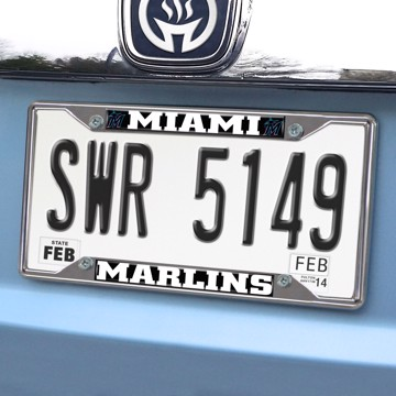 Picture of MLB - Miami Marlins License Plate Frame