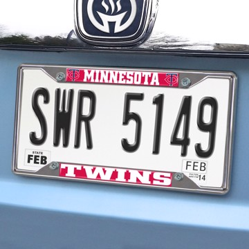 Picture of MLB - Minnesota Twins License Plate Frame