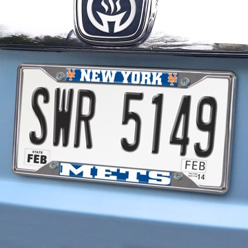 Picture of MLB - New York Mets License Plate Frame