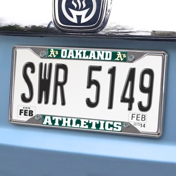 Picture of MLB - Oakland Athletics License Plate Frame
