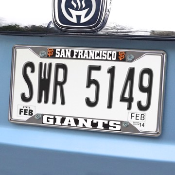 Picture of MLB - San Francisco Giants License Plate Frame